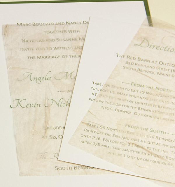 Letter Invitation Tissue Inserts | Party Invitations Ideas