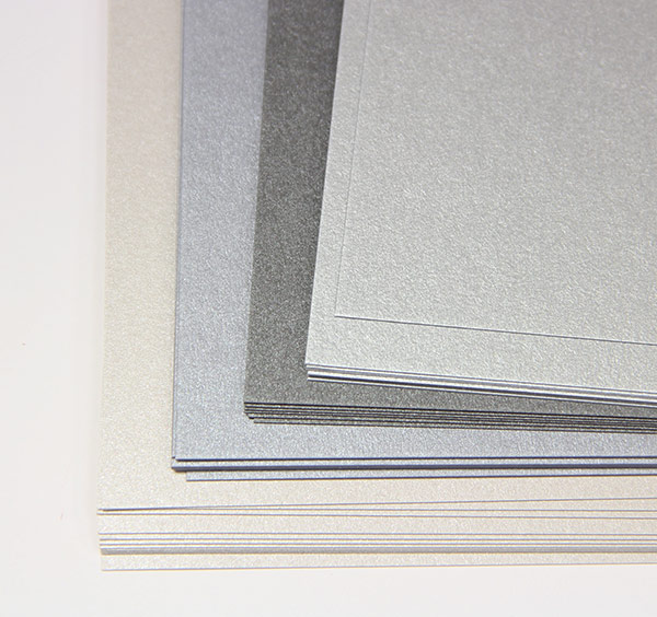 Metallic Card Stock Paper - Pearlescent & Shimmer Paper