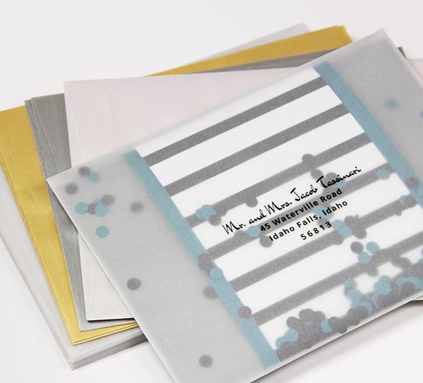 Translucent Envelopes Vellum A2 Amp A7 Envelopes