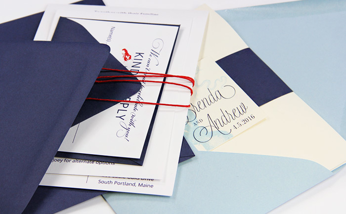 A7.5 euro flap envelopes perfect for bulky 5x7 invites