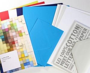 Letterpress Paper Sample Kit at LCI Paper