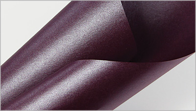 Metallic purple plum paper, Stardream Ruby