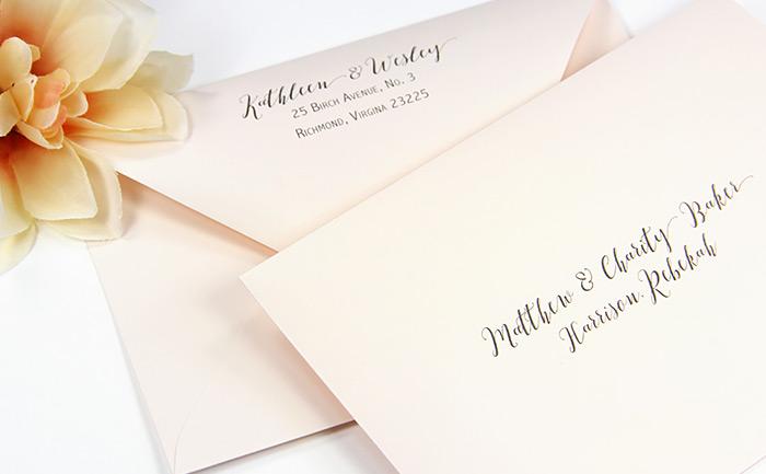 Gmund Colors Powder Pink (71) euro flap double envelope set