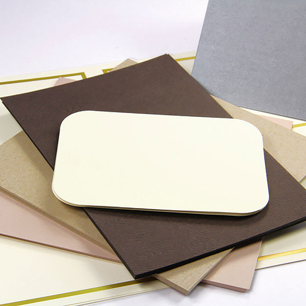 Flat, folding, traditional, contemporary blank cards