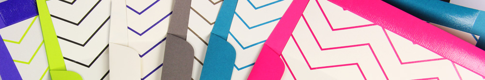 envelopes lined with free printable chevron liner paper