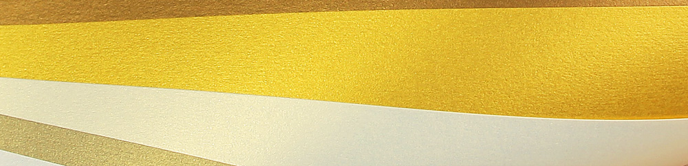 gold metallic papers close up