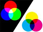 CMYK和RGB型號