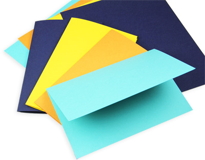 colorful card stock