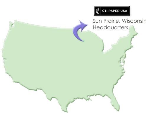 CTI Paper headquarters in Sun Prairie Wisconsin