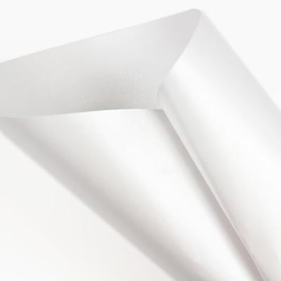 Curious Metallics Ice Silver - white metallic paper