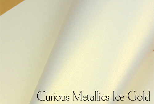 Curious Metallics Ice Gold