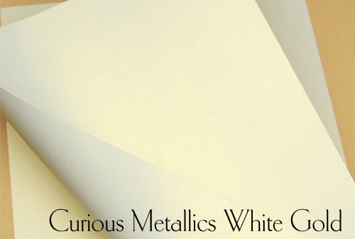 Curious Metallics White Gold