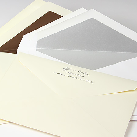 Traditional Double Wedding Envelopes