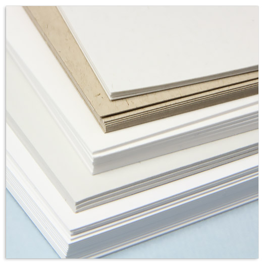 Double thick card stock offered at LCI