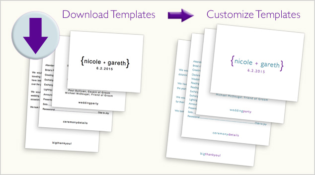 download and customize tiered program templates