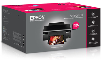Epson Artisan 50 printer box