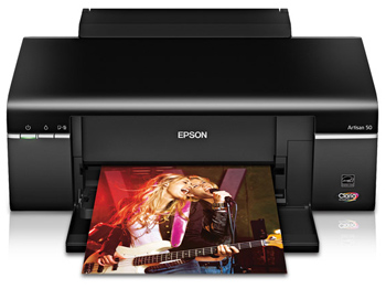 Epson Artisan 50 printer tray closed