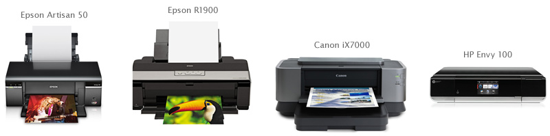 Epson Canon HP printers