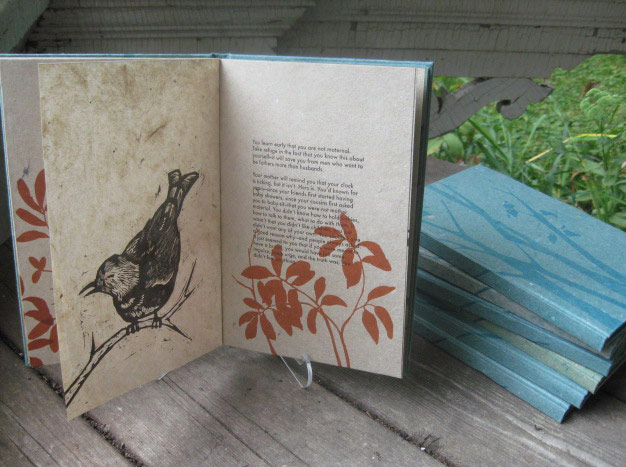 Letterpress book by Firebrand Press