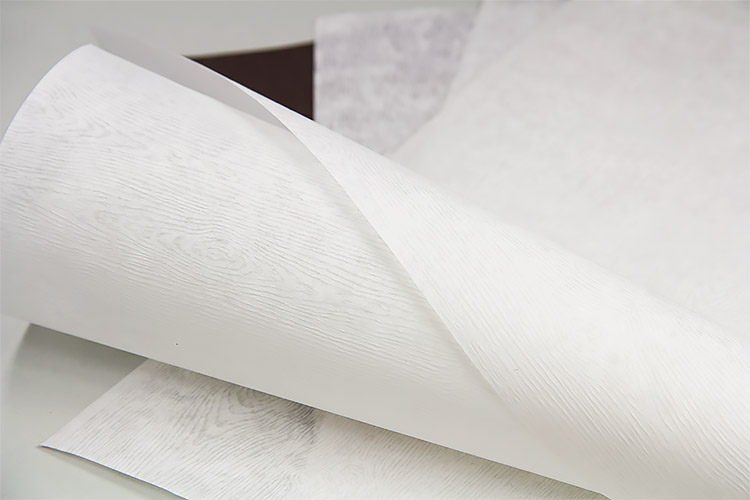 Frozen Limba wood grain translucent vellum paper