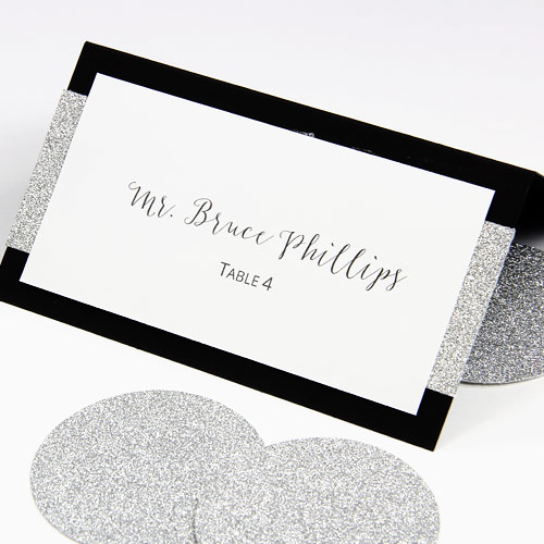 It's just an image of Free Printable Wedding Place Cards intended for navy