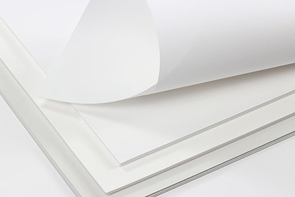 Gmund Cotton Text Paper in Max White, Wedding White, and New Grey. Have us print or order a sample before purchase.