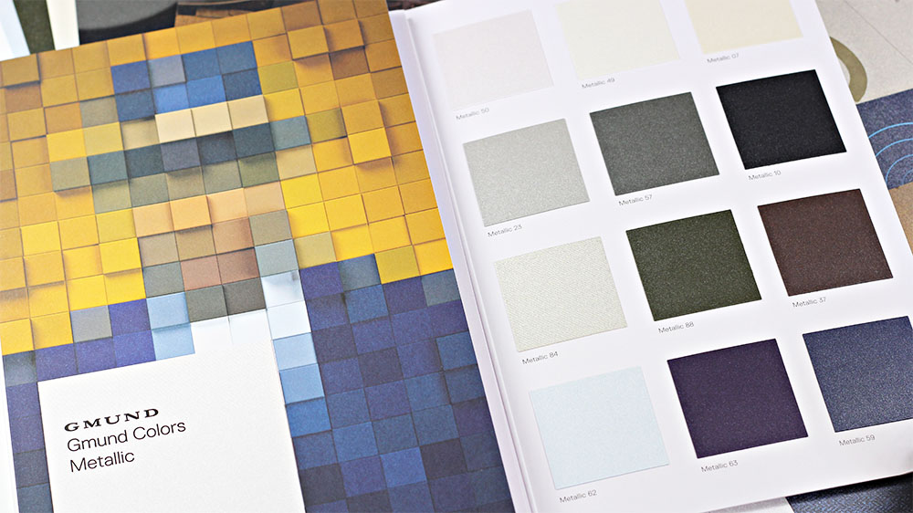 Order your Gmund Colors Metallic swatch book from LCIPaper.com with Free Shipping.