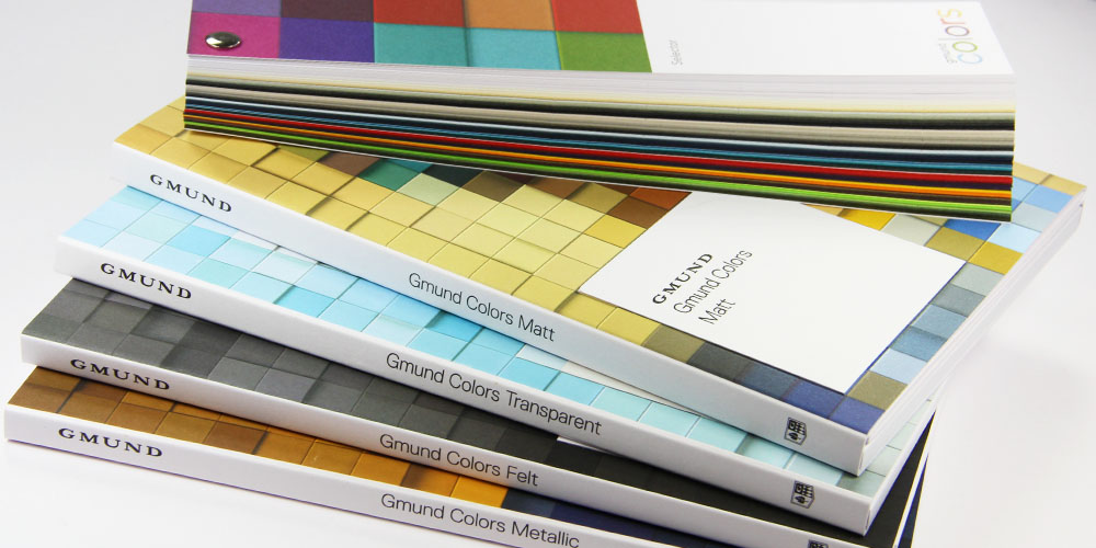 Order collection of luxury color system swatch books from LCI Paper.