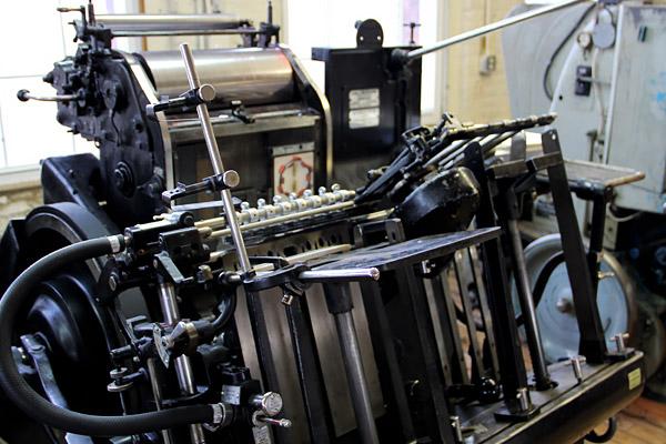 Full view of Heidelberg Windmill press