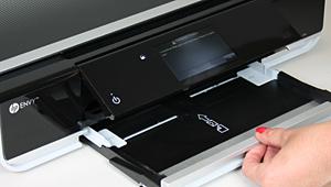 HP Envy 100 paper tray