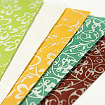 Decorative pearlized paper, or Japanese Pearlized paper