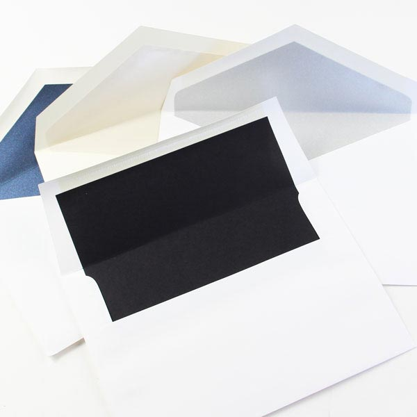 Order lined envelopes from LCI Paper. Blank or addressed.