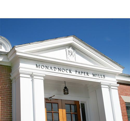 Monadnock Paper Mill in Bennington NH