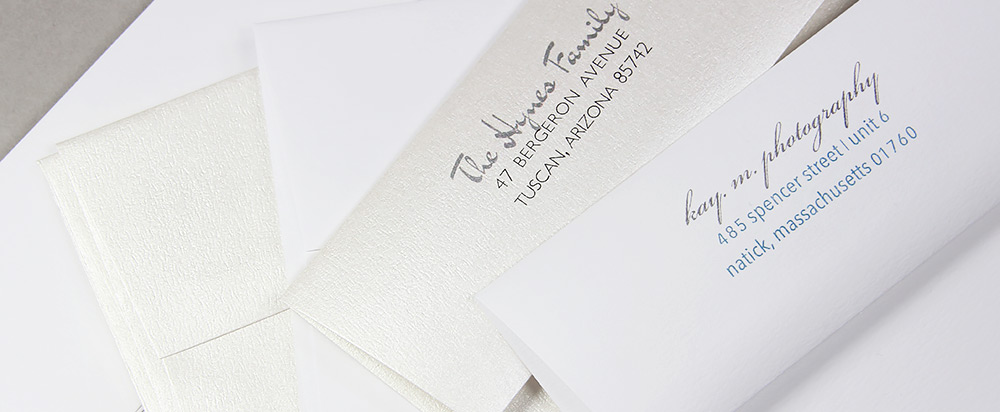 Odeon Felt Gala & Vintage Envelopes offered in sizes A7 and A2.