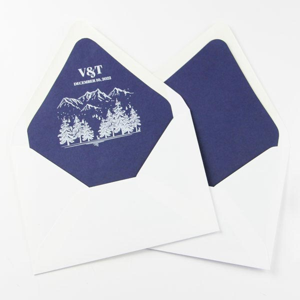 Order Envelope Liners Blank or Printed with your Custom Design