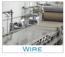 Wire portion of Fourdrinier Machine