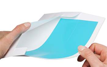 partially lined envelope