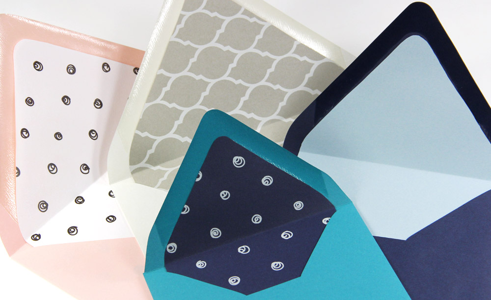 DIY lined euro flap envelopes. Download free euro flap liner outline templates, print on 8 1/2 x 11 paper, cut.