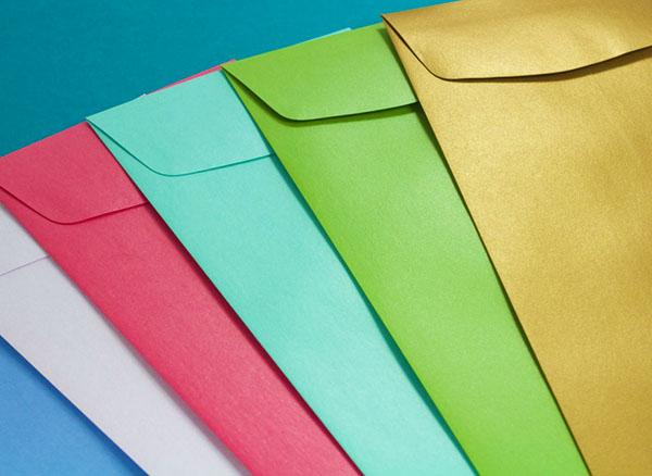 Metallic Policy Open End Envelopes