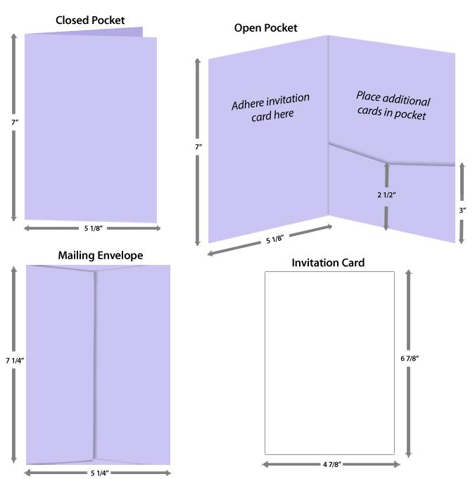 5x7 booklet pocket size key