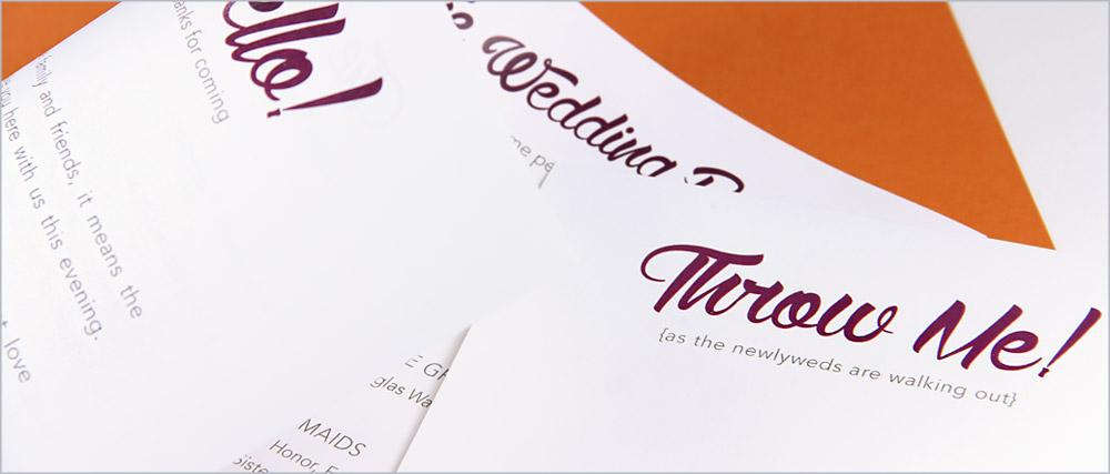 Print pocket program insert folder and card using your home printer - pocket program tutorial from LCIPaper.com