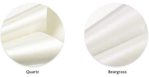 Soft white metallic paper: Stardream Quartz a good replacement for Aspire Petallics Beargrass