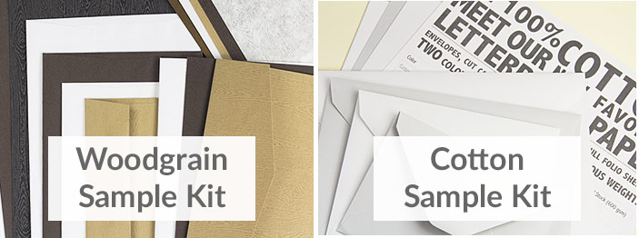 Sample Kits By Brand of Specialty Paper