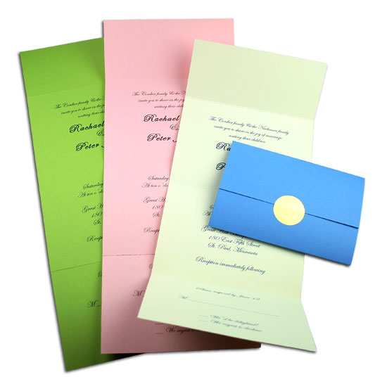 Open and Closed Seal & Send Invitations