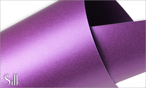 silk purple paper