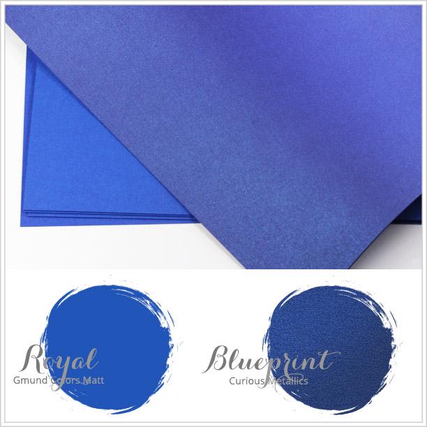 Close paper matches to Spring 2016 Pantone color Snorkel Blue
