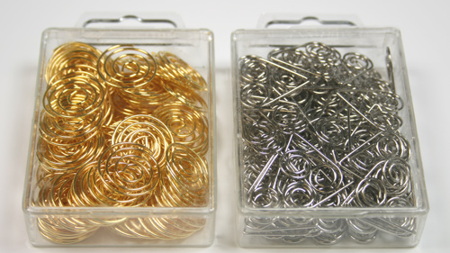 spiral clips pack