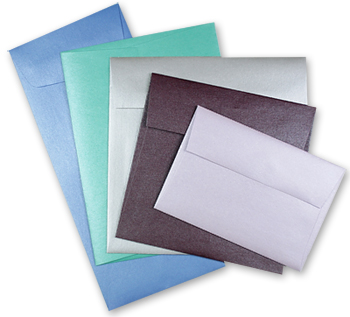 Stardream invitation envelopes a variety of sizes