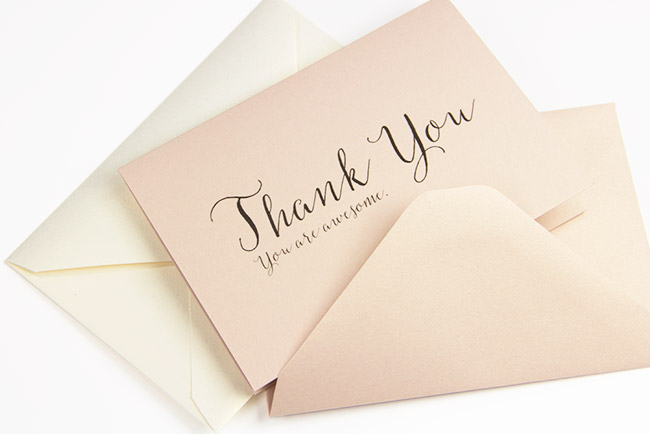 free printables  simple 3 x 5 folding thank you cards
