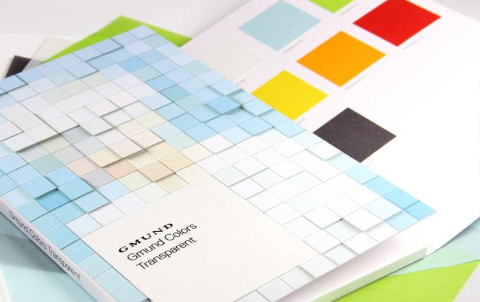 Gmund Colors Transparent swatch book